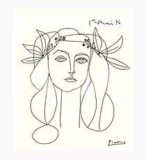 Lámina fotográfica Bosquejo de Picasso