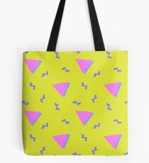 90's colour vomit Tote Bag