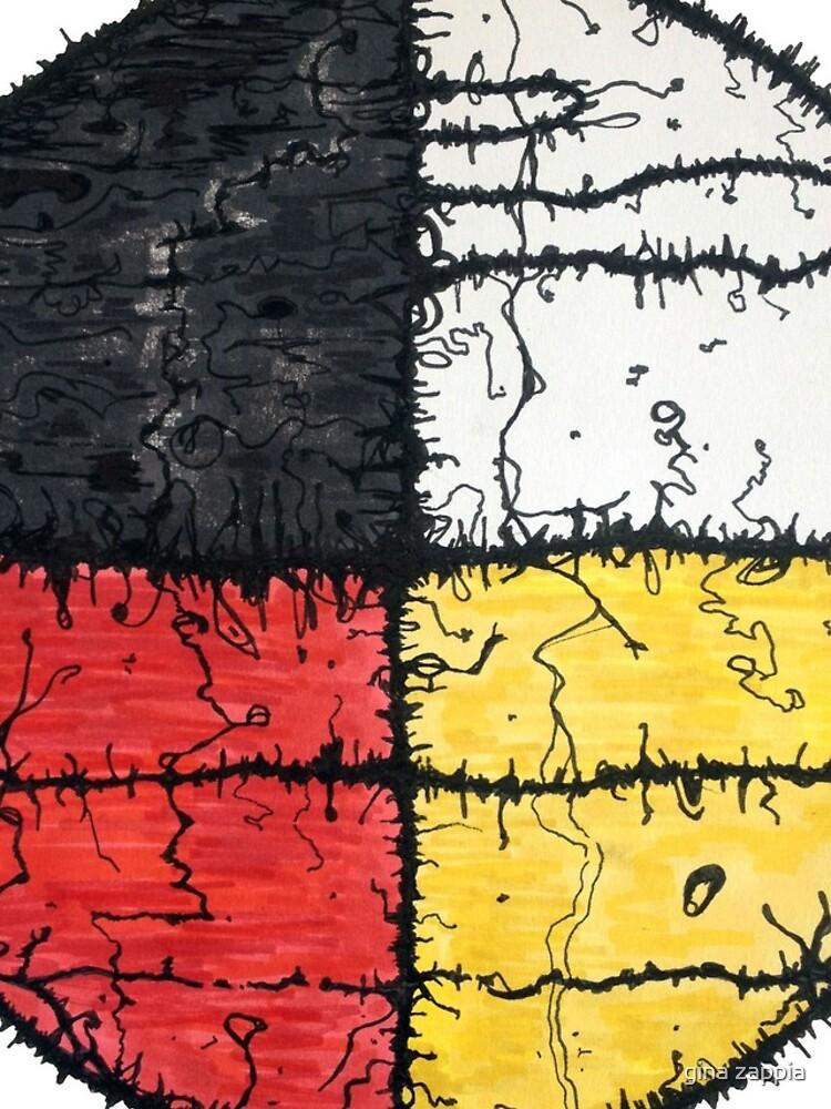 Four Colors mandala by gmonkeyz