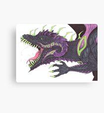 Poisonus dragon Canvas Print