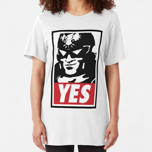 """YES!"" Slim Fit T-Shirt"
