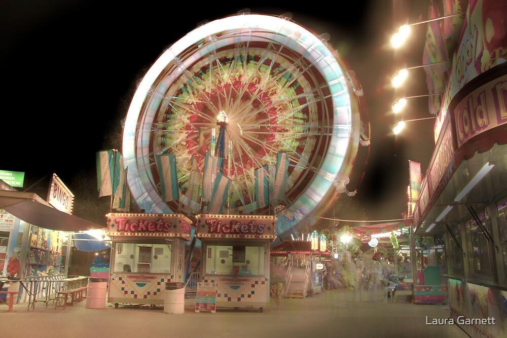 Carnival Ferris Wheel by Laura Garnett