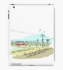 The train doesn't stop here anymore iPad Case/Skin
