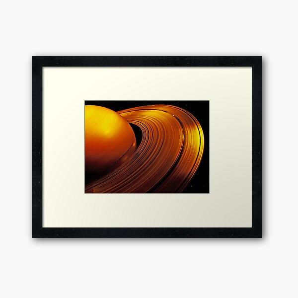 Rings of Saturn Framed Art Print