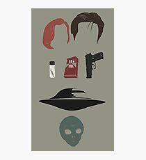 X-Files Icons Photographic Print