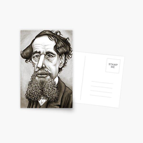 Charles Dickens Postcard