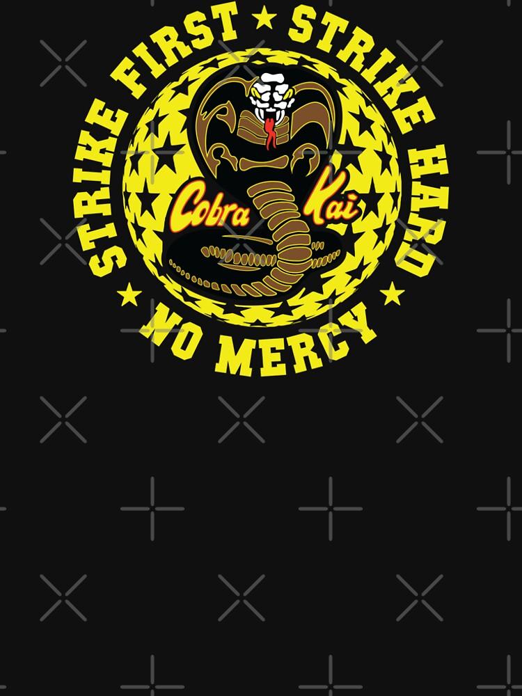 Cobra kai - Schlag vier HD Logo von Purakushi