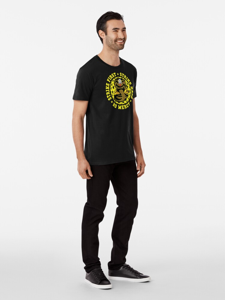 Alternative Ansicht von Cobra kai - Schlag vier HD Logo Premium T-Shirt