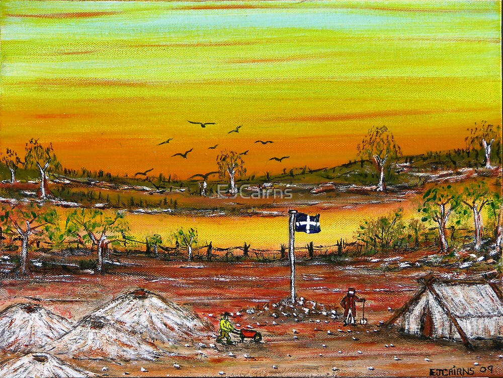"""""""Ned Kelly Prospector"""" Original Now Sold by EJCairns"""