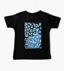 Black and Blue Leopard Baby Tee