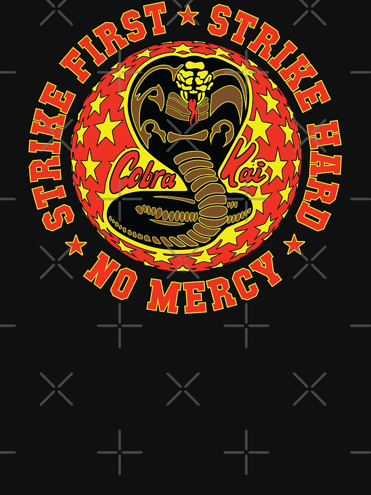 Cobra kai - Schlag fünf HD Logo von Purakushi