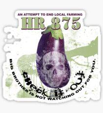 eggplants eggheads Sticker