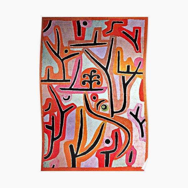 Klee - Park Bei Lu, popular Paul Klee artwork Poster