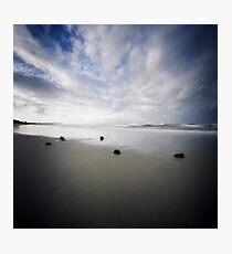 Fingal Beach Pinhole Photographic Print