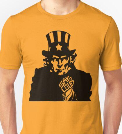 SAY IT LOUD: Uncle Sam T-Shirt