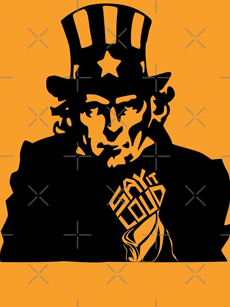 SAY IT LOUD: Uncle Sam by carbonfibreme
