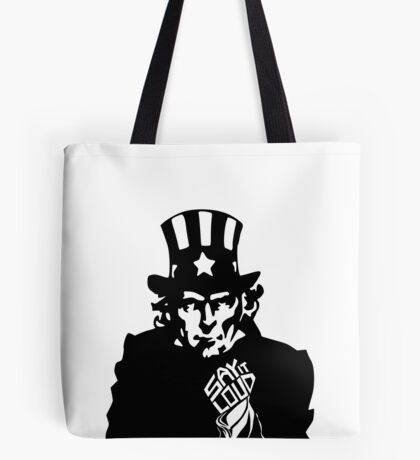 SAY IT LOUD: Uncle Sam Tote Bag