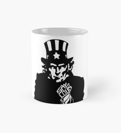 SAY IT LOUD: Uncle Sam Mug