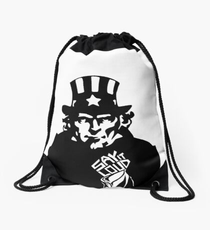 SAY IT LOUD: Uncle Sam Drawstring Bag