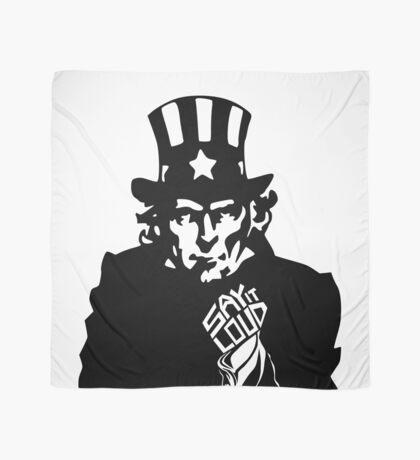 SAY IT LOUD: Uncle Sam Scarf