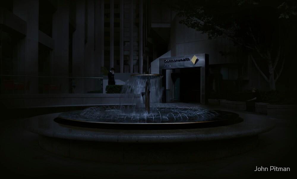The Fountain II by John Pitman