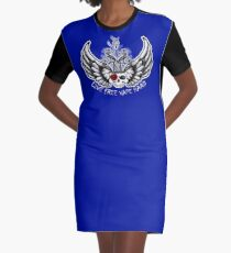 Live Free Vape Hard Graphic T-Shirt Dress