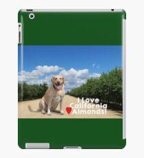 Lab Love California Almonds iPad Case/Skin