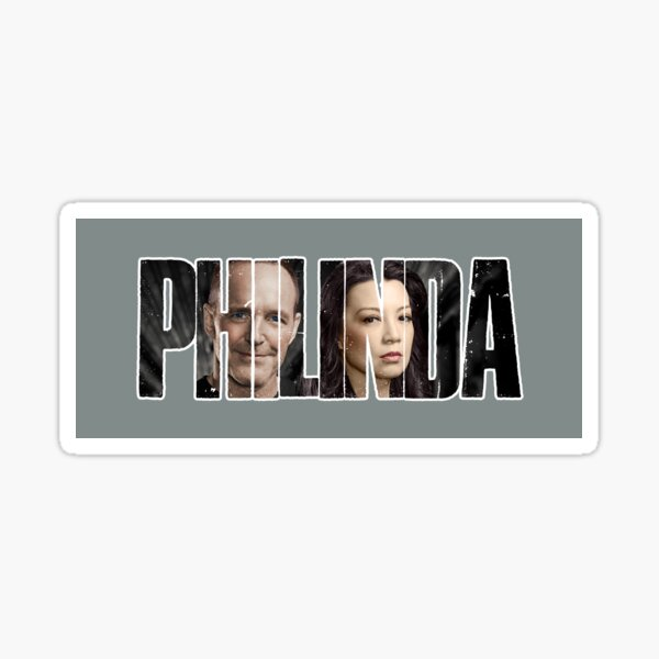 PHILINDA BG Sticker