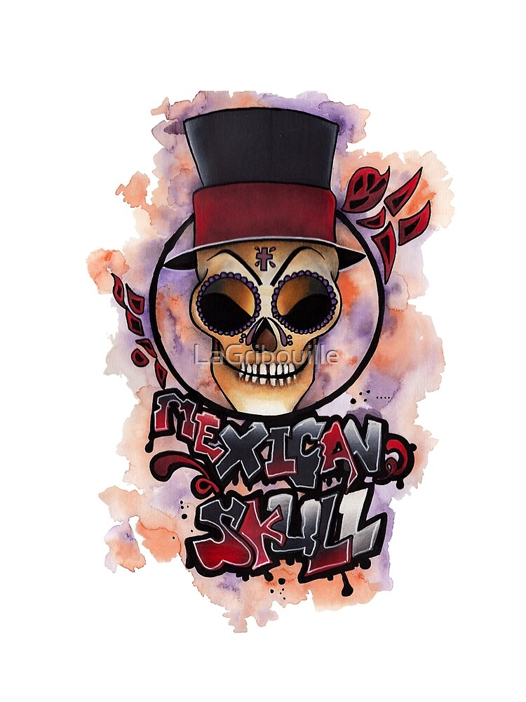 Mexican Skull by LaGribouille