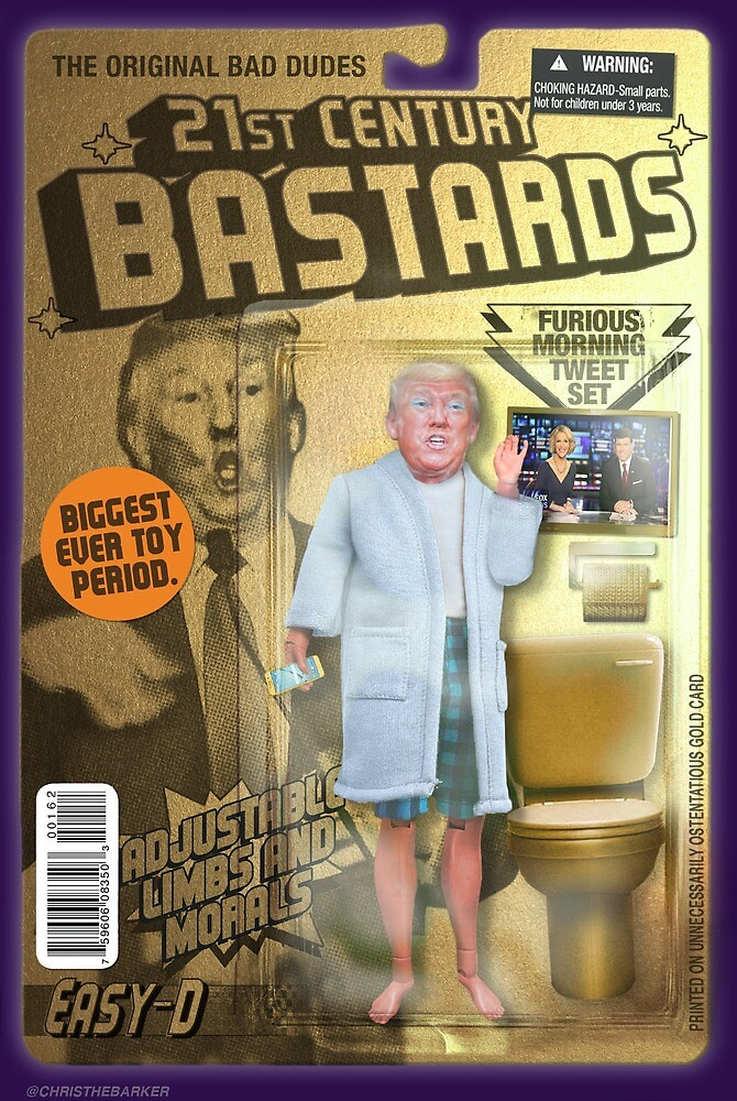 Trump Action Figure by christhebarker