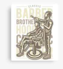 BARBER BROTHER HOOD   T-SHIRT Canvas Print