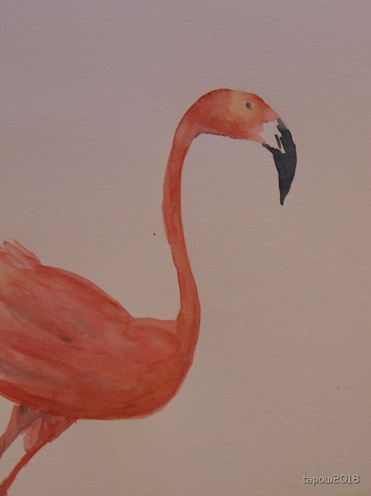 Harvey the Pink Flamingo by tapow2018