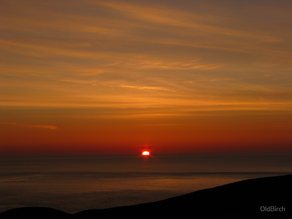 Sunrise at Outer Cove by OldBirch