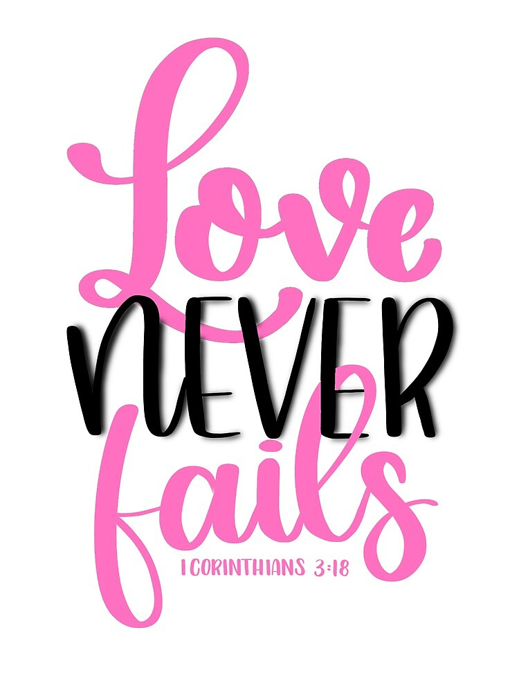 Love never fails by scriptedbysyd
