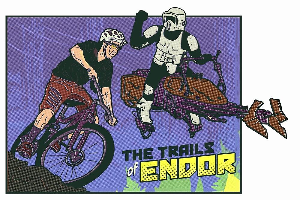 Trails of Endor by christhebarker