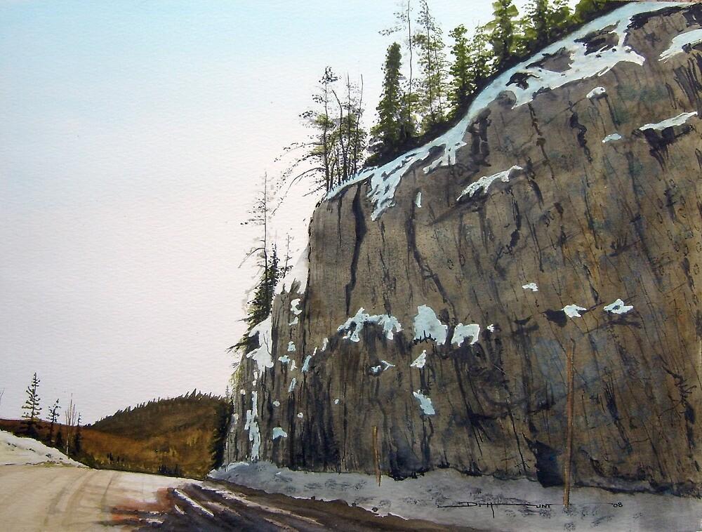 Rock Face Mill Road by Douglas Hunt