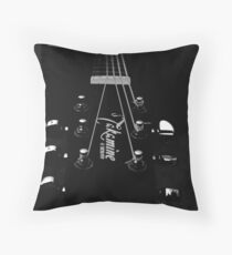 tuning pegs Throw Pillow