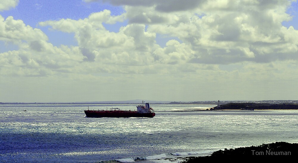 Port Phillip Heads from Point Nepean by Tom Newman
