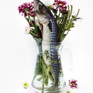 Fish in a flower vase photo by JAMESWOODFORD