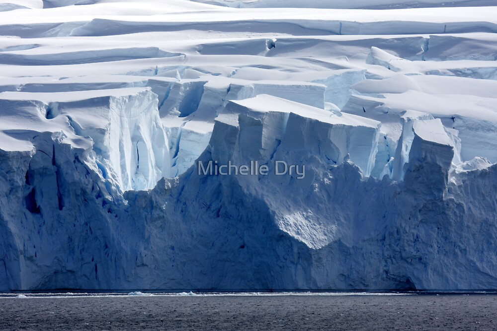 Ice and structure by Michelle Dry