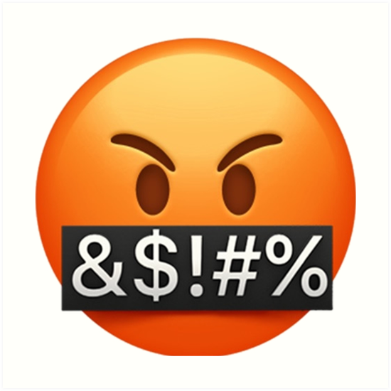 Funny Angry Emoji Art Print By Staytrendy
