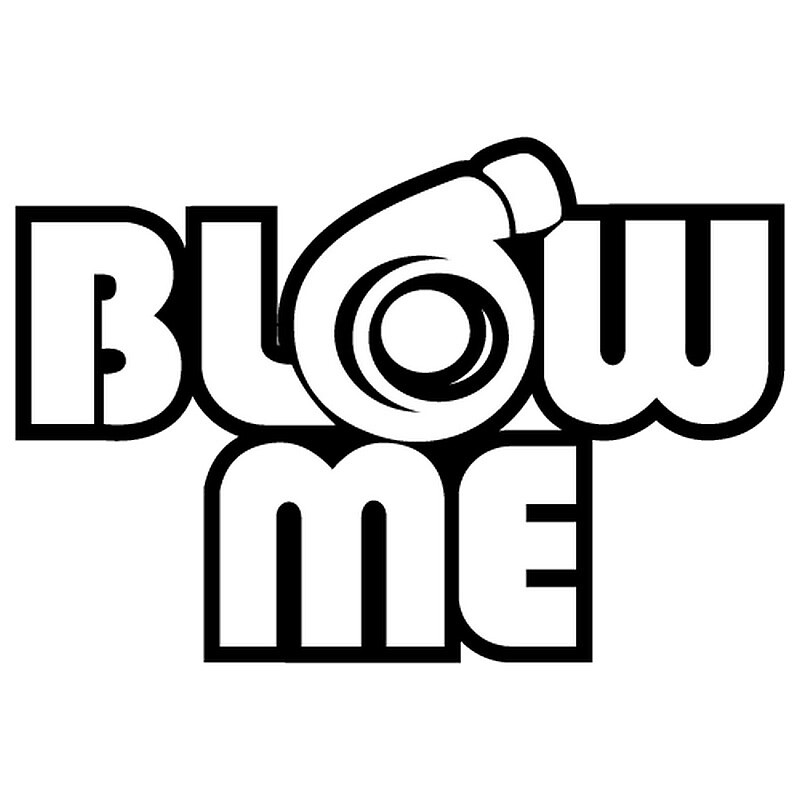 Turbo Blow Me Sticker by HypeCollection