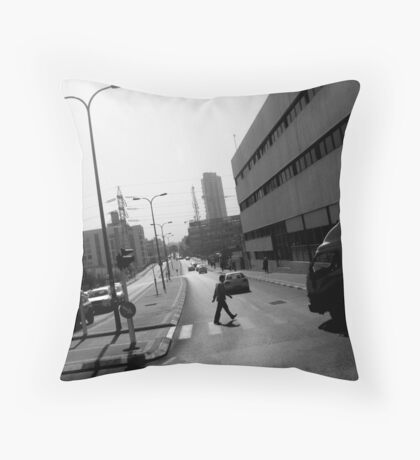Urban Glimpse Throw Pillow