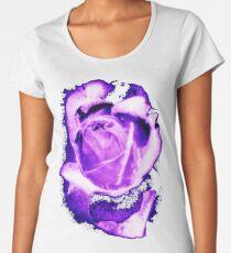 Purple Rose Women's Premium T-Shirt