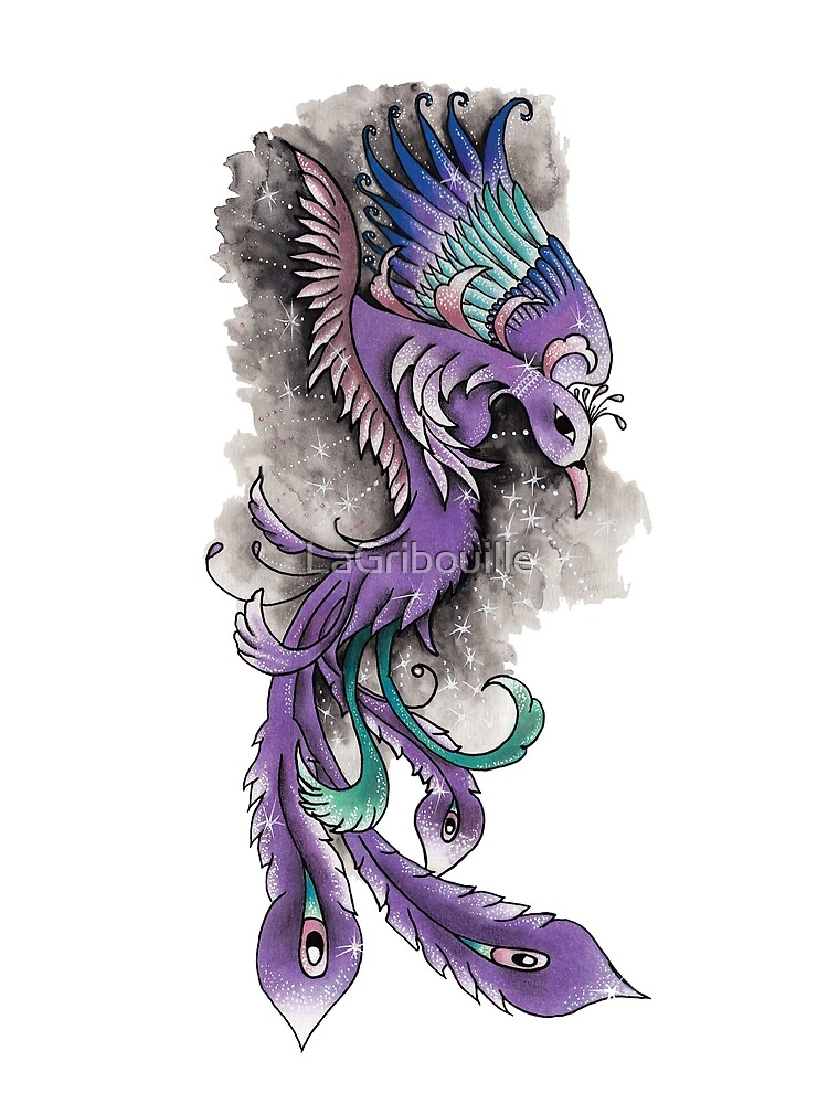 Magic Phoenix by LaGribouille