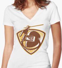 Welding  Women's Fitted V-Neck T-Shirt