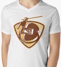 Welding  Men's V-Neck T-Shirt