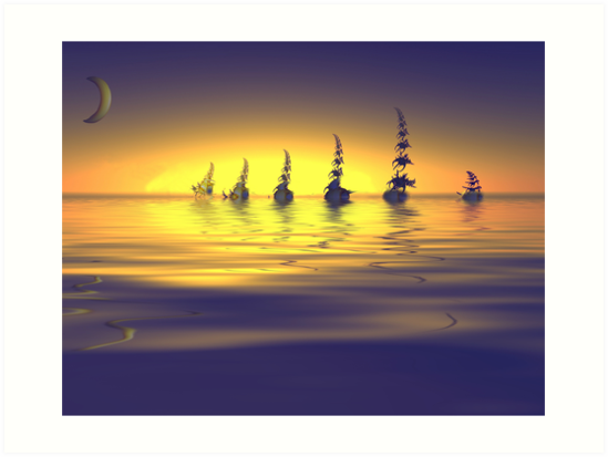 Sailing Into The Night by SharonD