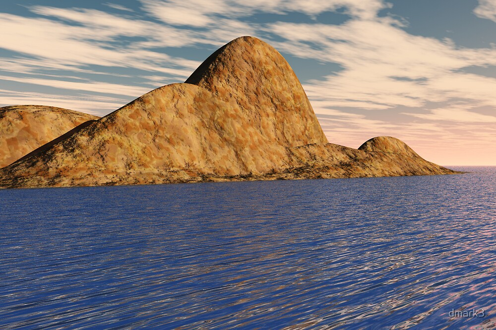 Mountain Island by dmark3