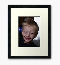 Adam Framed Print